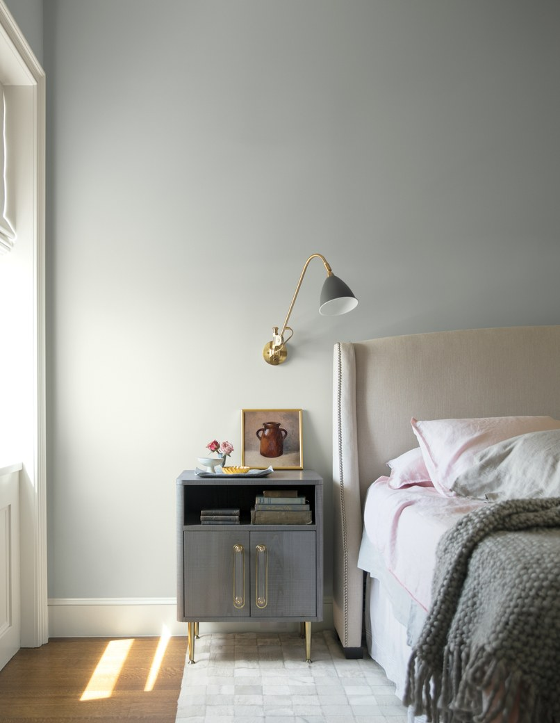Painting with Benjamin Moore's Color Trends 2019 - Bedroom