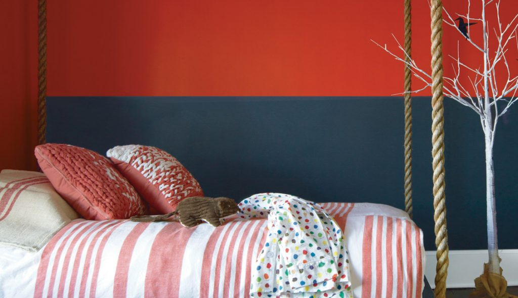 How to Create an Accent Wall with Stripes