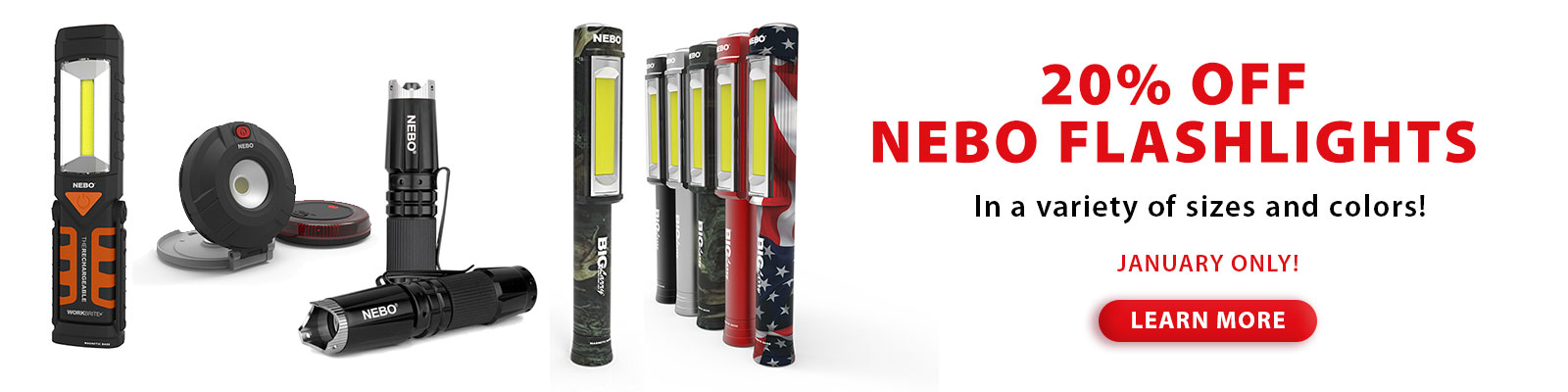 NEBO Flashlight Sale