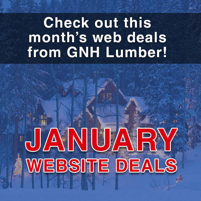January web sales at GNH