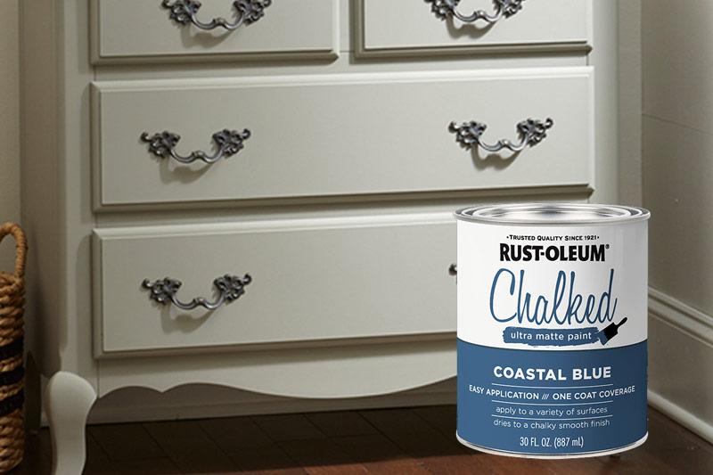 Chalked Rust-Oleum Paint at GNH
