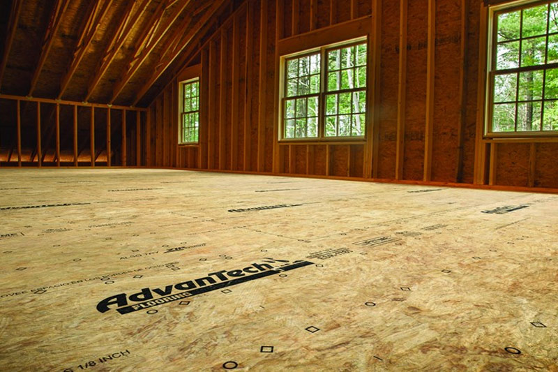 Huber AdvanTech Flooring at GNH
