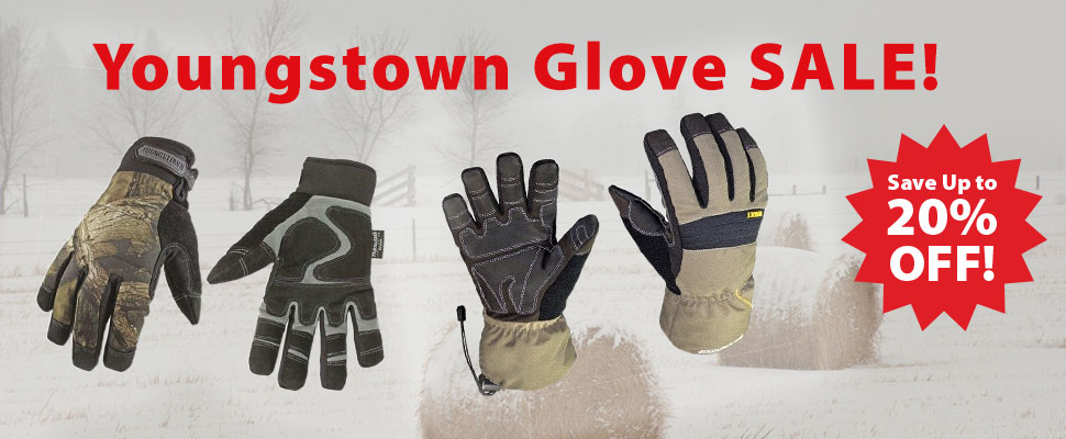 Youngstown Glove Sale at GNH