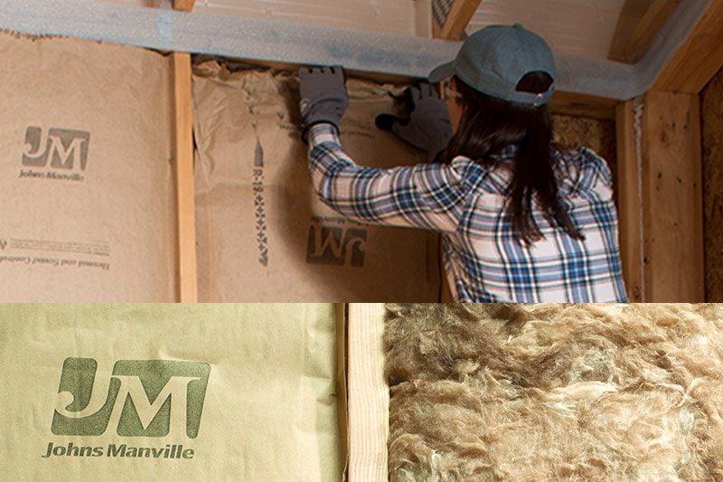 Johns Manville Insulation at GNH