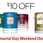 Memorial Day Paint and Stain Sale at GNH