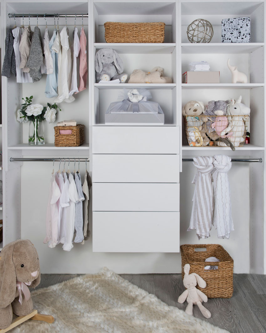 Custom Closet for Kids