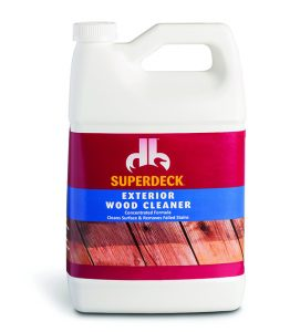 How to Prep Your Deck for Stain - Wood Cleaner