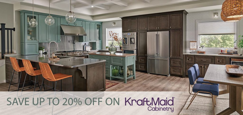 KraftMaid Tiered Sale at GNH