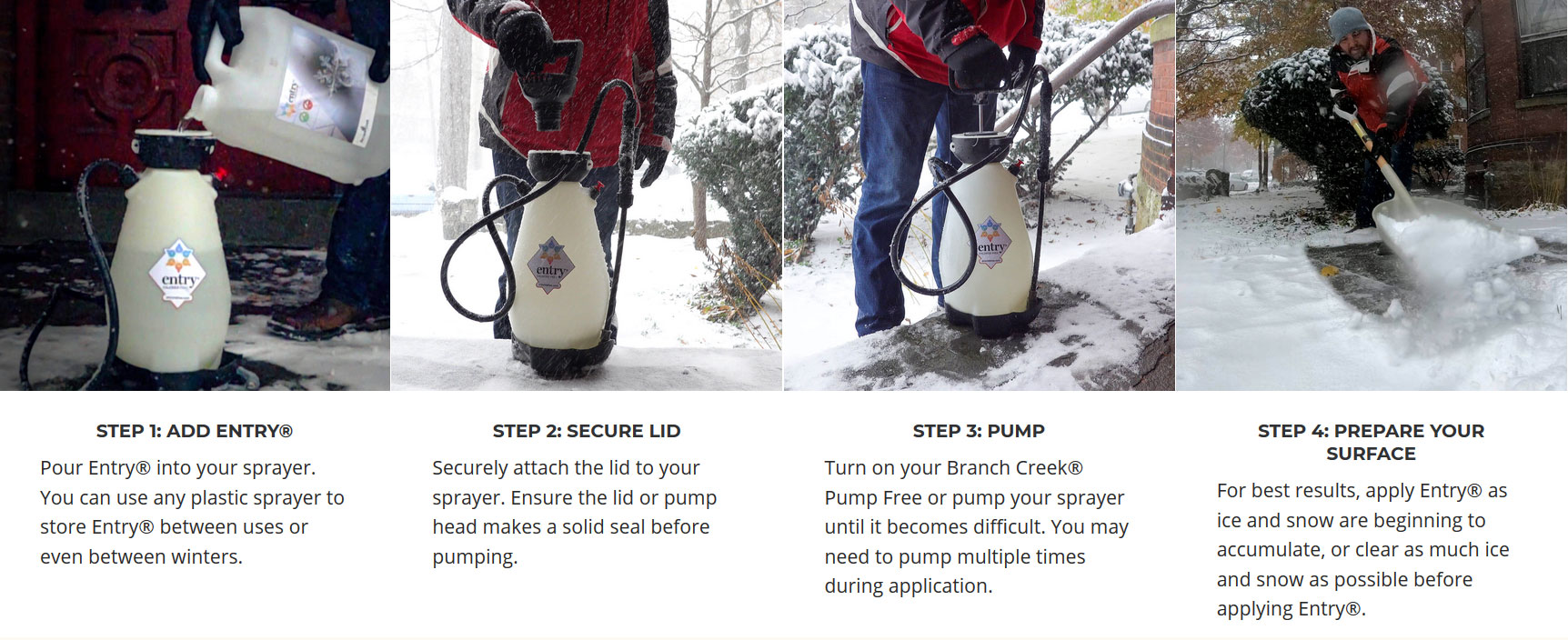 Using Entry Pet Safe Ice Melt - How To