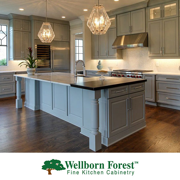 Wellborn Forest Kitchen Cabinetry at GNH