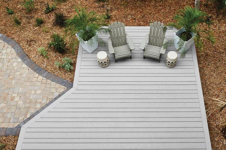 Deck Designs - Multi-Width Decking