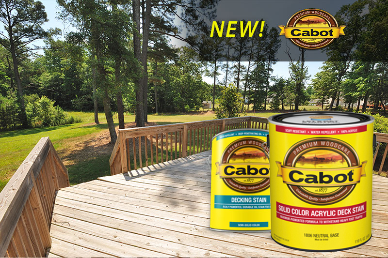 Cabot Stain at GNH Lumber