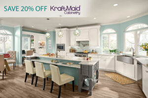 20% OFF KraftMaid Cabinets for a Limited Time!