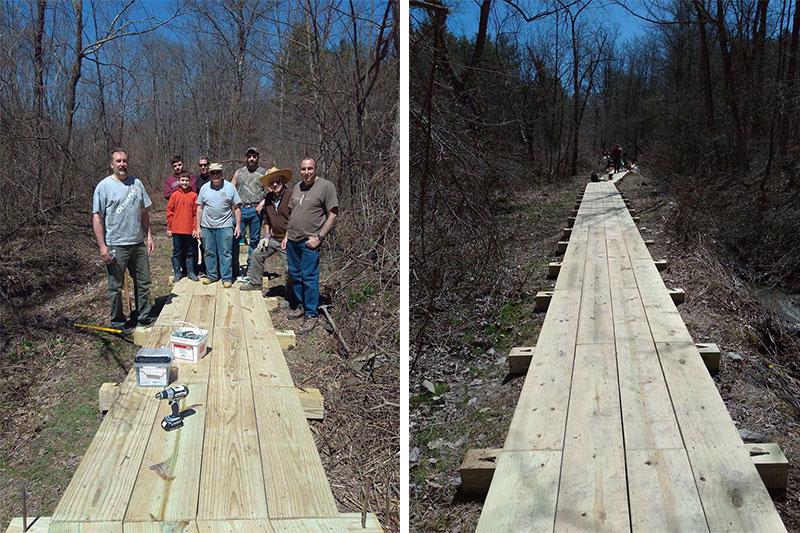 Eagle-Scout-Project-at-the-Hannacroix-Creek-Preserve