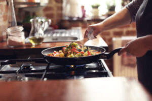 Read the article: Fire Prevention Week Tips: Cooking Safely