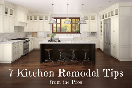 7 Kitchen Remodel Tips from the Pros