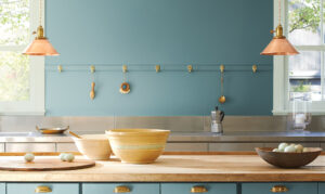 Read the article: Calming Paint Colors from Benjamin Moore