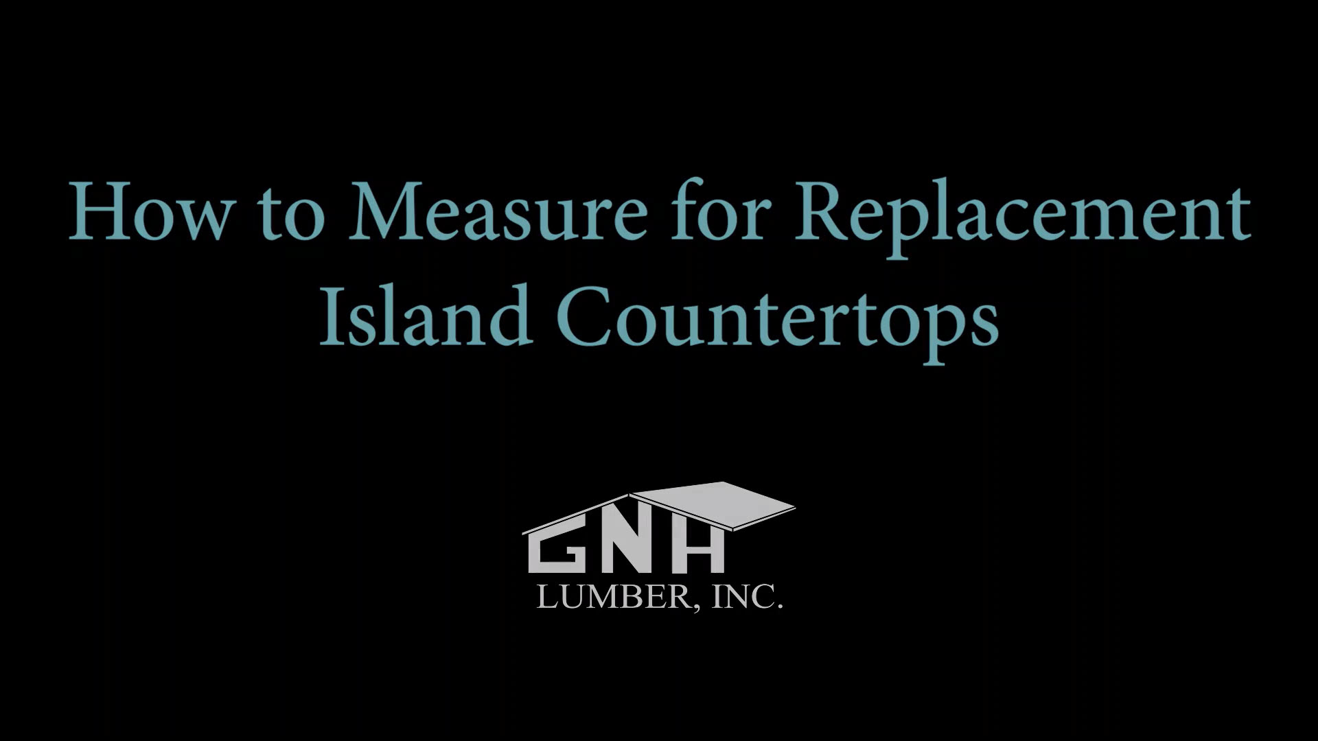 Watch video: How To Measure for Replacement Island Countertops