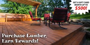 In-Stock Lumber Sale - Limited Time Only!